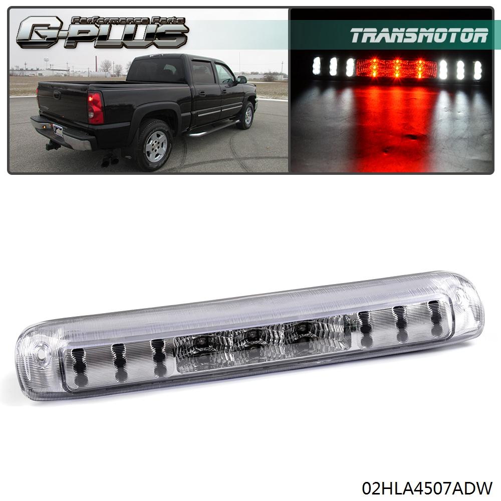 99-06 Chevy Silverado CHROME THIRD 3RD BRAKE Tail LIGHT Cover TRUCK TRIM