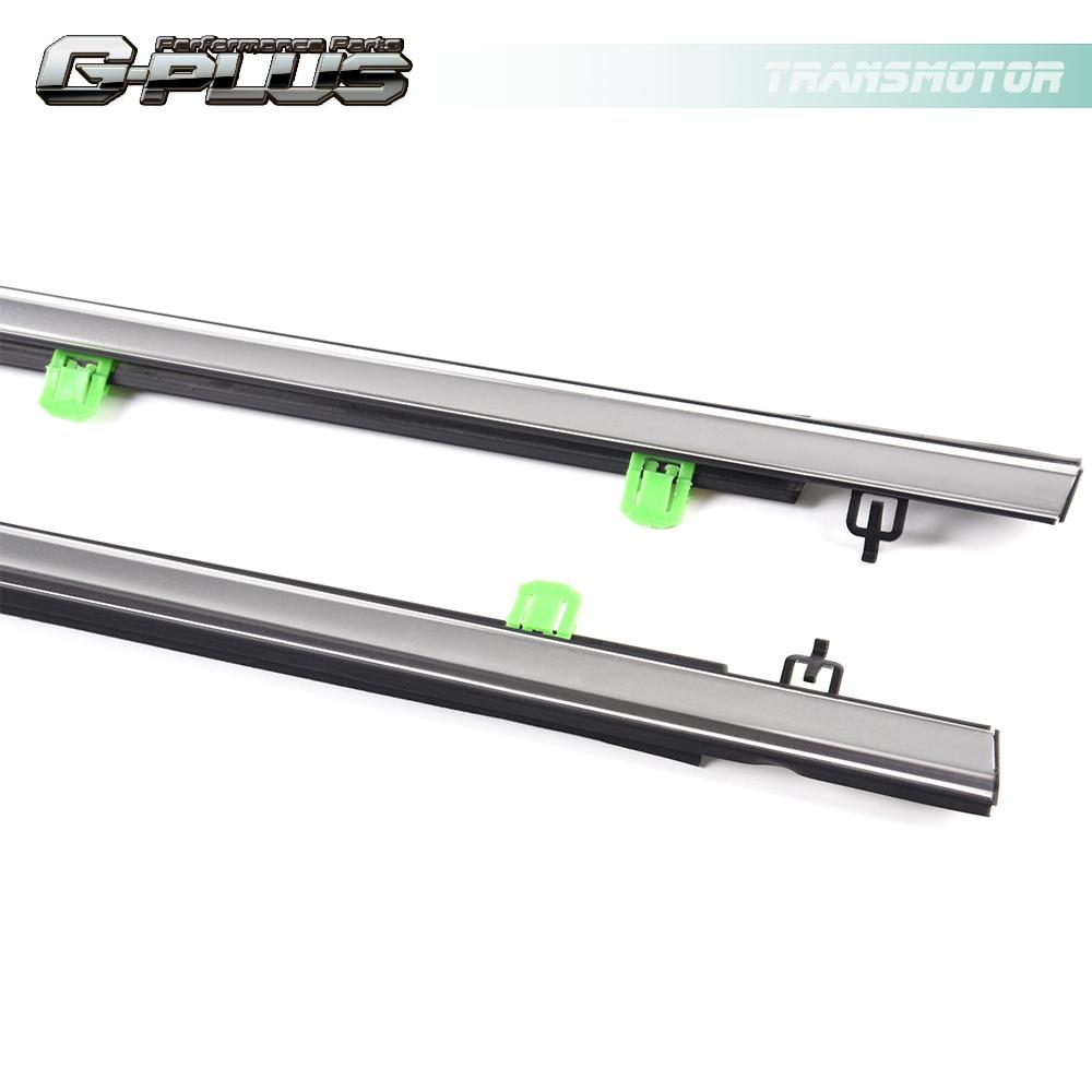 4pcs Window Weatherstrips Seal Belt For Honda CR-V CRV